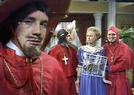 NOBODY expects the, well, you know.